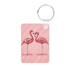 Pink Flamingos Keychains