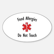 Lunchbag Oval Decal