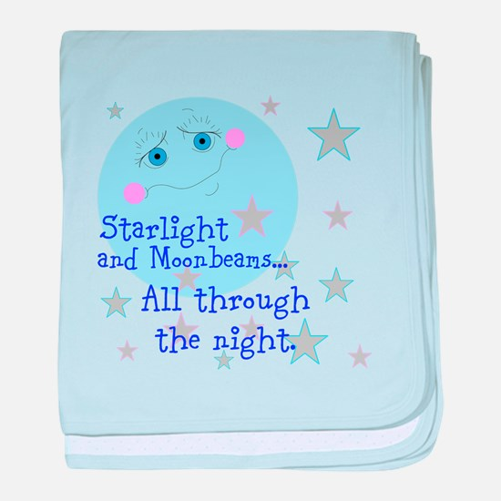 Starlight And Moonbeams baby blanket
