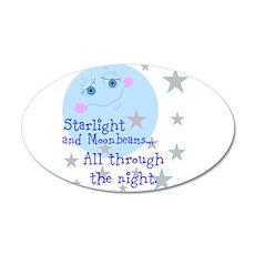Starlight And Moonbeams Wall Decal