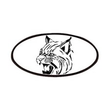Tiger Wildcat Cat Head Face Lineart Animal Patches