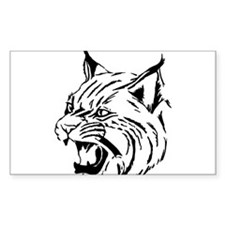 Tiger Wildcat Cat Head Face Lineart Animal Decal