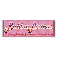BubbieLicious Bumper Bumper Sticker