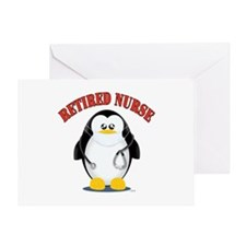 Retired Male Nurse Greeting Cards
