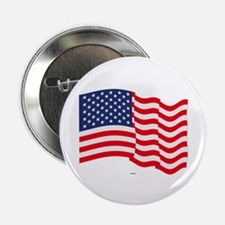 "American Flag Waving 2.25"" Button (100 pack)"