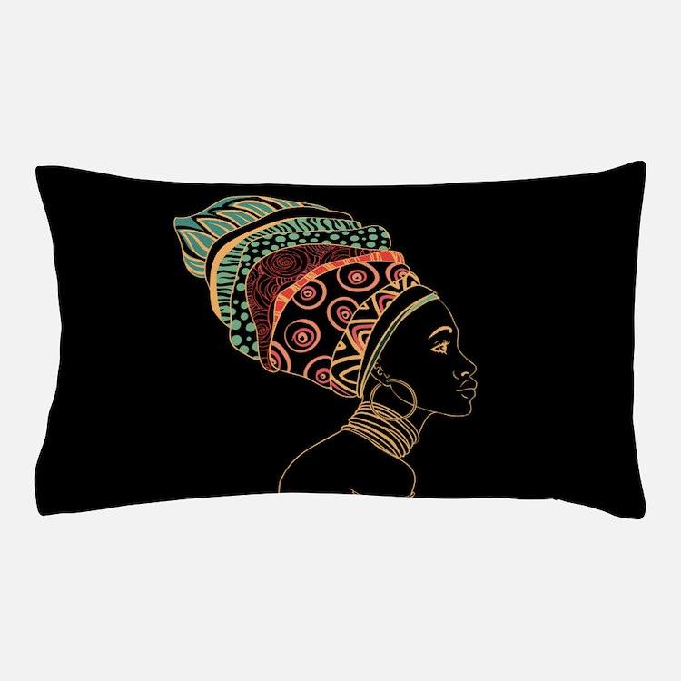 African Woman Pillow Case