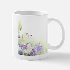 Flowers with Butterflies Mug