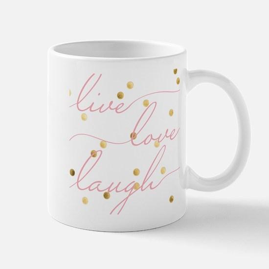 Live, Love, Laugh Mugs