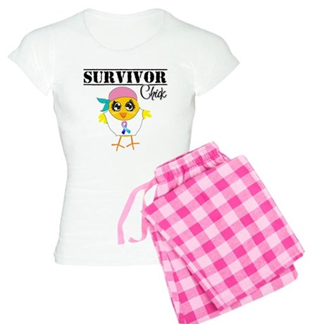 Thyroid Cancer Survivor Chick Pajamas