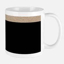 LETTERS IN SAND L Mugs