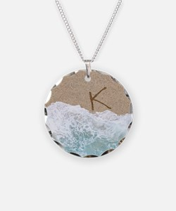 LETTERS IN SAND K Necklace