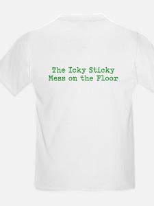 Icky Sticky Mess Kid's T-Shirt