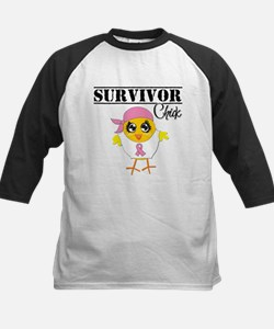 Breast Cancer Survivor Chick Baseball Jersey