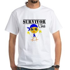 Anal Cancer Survivor Chick T-Shirt