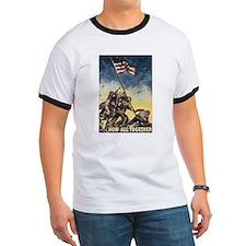 Iwo Jima Flag Raising T-Shirt