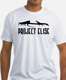 Project Elise Black And White T-Shirt