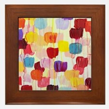 Dotty Framed Tile