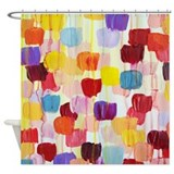 Dots Shower Curtains