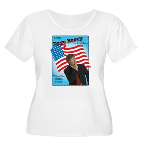 Dave Barry For President Women's Plus Size Scoop