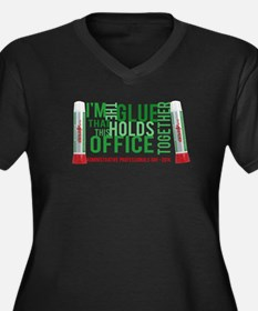 The glue that holds your office together Plus Size