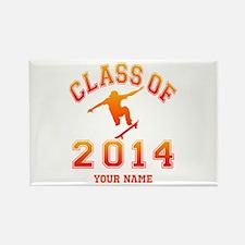 Class Of 2014 Skateboa Rectangle Magnet (100 pack)