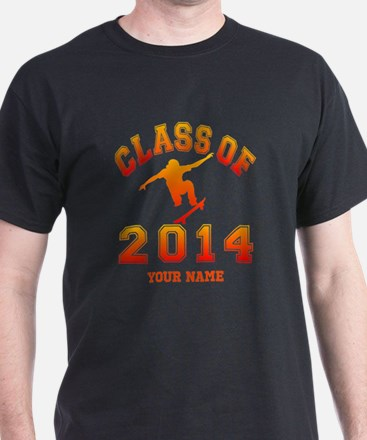 Class Of 2014 Skateboard T-Shirt