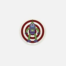 Purple/Green - Robot Mini Button