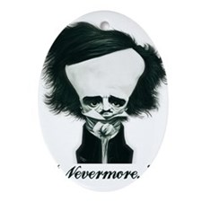 Poe Ornament (Oval)