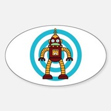 Red/Yellow - Robot Decal
