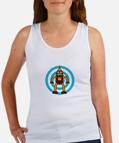 Red/Yellow - Robot Tank Top