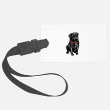 Black Pug (#1) Luggage Tag