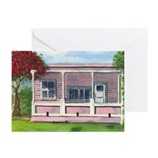 Pink House - Greeting Cards (Pk of 10)