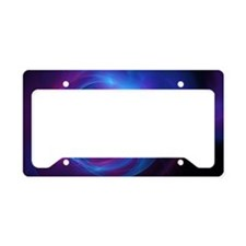 Nebula Galaxy Fractal Abstrac License Plate Holder