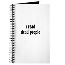 i read dead people Journal