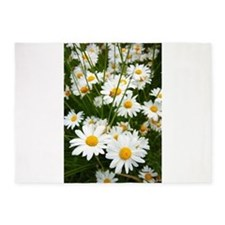 Meadow of daisies 5'x7'Area Rug