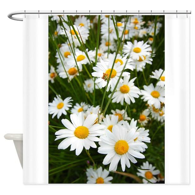 Daisy Kitchen Decor: Meadow Of Daisies Shower Curtain By Imagineallartshop