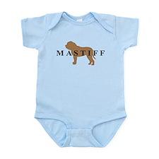 Mastiff Dog Breed Infant Bodysuit