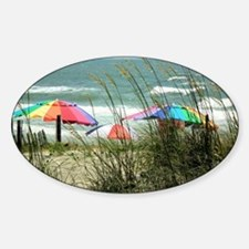 Beach Umbrellas Decal
