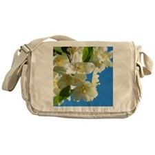 Jasmine flowers blossom  Messenger Bag