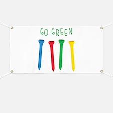 GO GREEN Banner