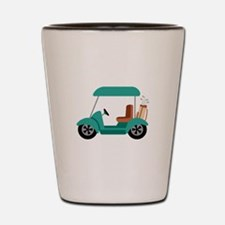 Golf Cart Shot Glass