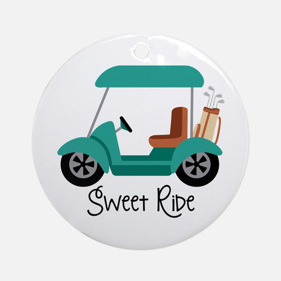 Sweet RiDe Ornament (Round)