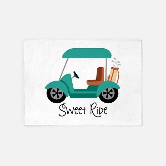 Sweet RiDe 5'x7'Area Rug