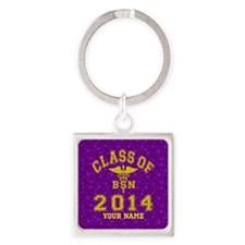 Class Of 2014 BSN Square Keychain