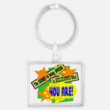 The Secret To Being Special/ Keychains