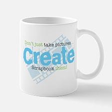 Create - Green Mug
