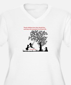 Proverbs 22:6 Plus Size T-Shirt