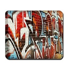 Graffiti wall Mousepad