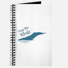 Great Blue Whale Journal