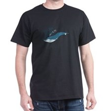 Great Blue Whale T-Shirt